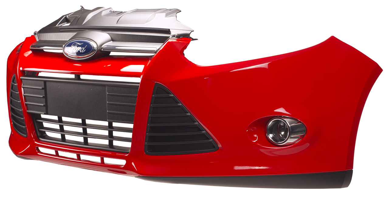 Design of a car bumper - Head Light Lamp